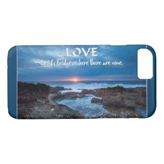 Love Builds Bridges phone cases