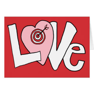 Love Bullseye Card