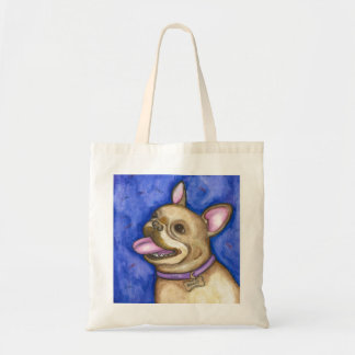 Love Bully French Bulldog tote