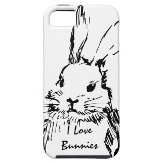 Love Bunnies (customizable) Case For The iPhone 5