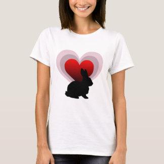 Love bunny rabbit - customisable T-Shirt