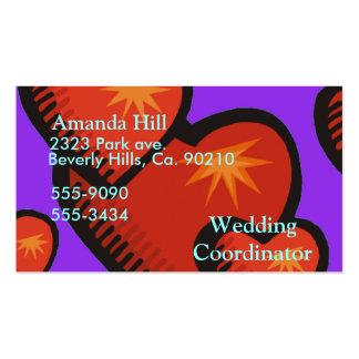 Love Burst Set Business Card