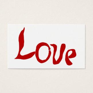 Love Business Card