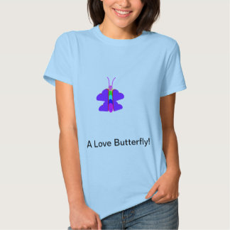 Love butterfly Graphic shirt
