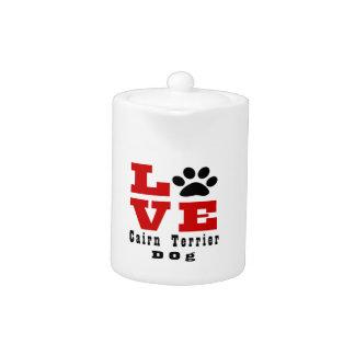 Love Cairn Terrier Dog Designes