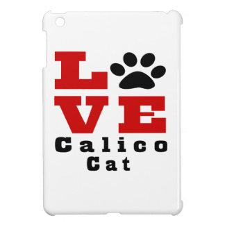 Love Calico Cat Designes iPad Mini Cases