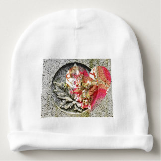 Love canada filigree fractal baby beanie