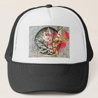 Love canada filigree fractal trucker hat
