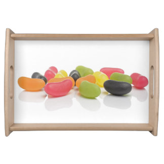 Love Candis Sweets Colorful Jelly Beans Serving Platter