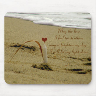 Love Candle_ Mouse Pad