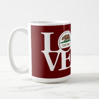 LOVE Capitola 15oz Mug Red