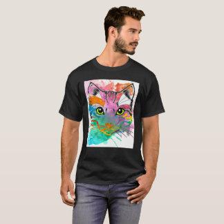 Love Cat Artistic T-shirt Cats Pet Cats Lover Gift