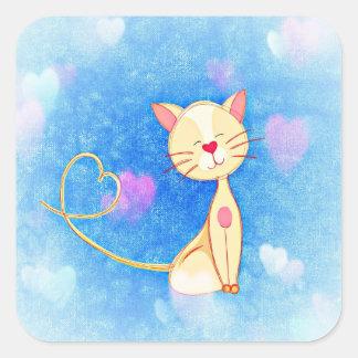 Love Cat Stickers