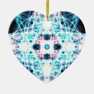 Love Ceramic Heart Decoration