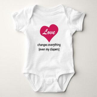 Love Changes Baby Bodysuit