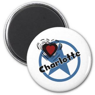 Love Charlotte Fridge Magnet