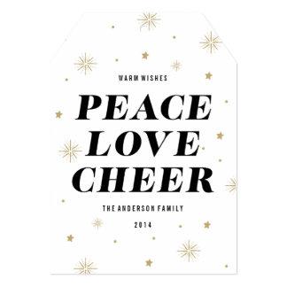 Love & Cheer   Holiday Photo Card 13 Cm X 18 Cm Invitation Card