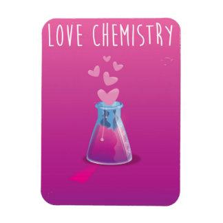 love chemistry rectangular photo magnet