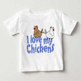 Love Chickens Baby Shirt