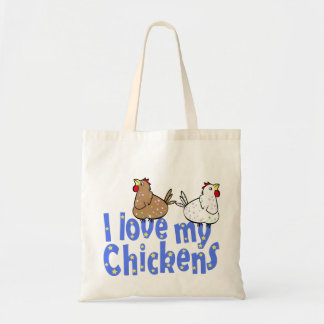 Love Chickens - Bag