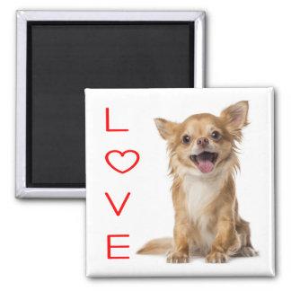 Love Chihuahua Puppy Dog Fridge Magnet