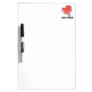 Love Child Dry Erase Board