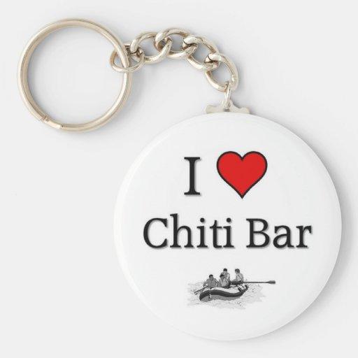 Love Chiti Bar Keychains