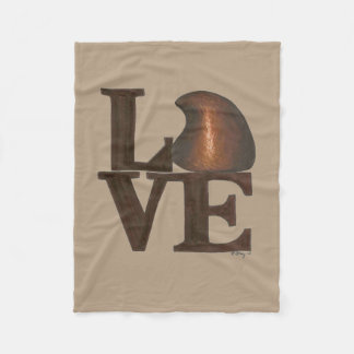 LOVE Chocolate Drop Valentine's Day Candy Blanket
