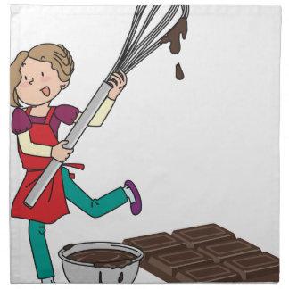 Love Chocolate Napkin