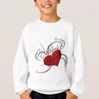 Love Chorus Singers Heart Sweatshirt