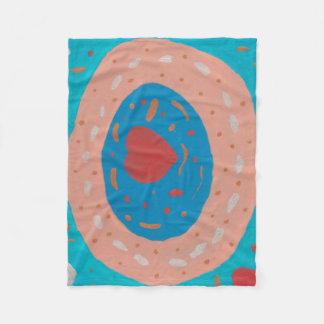 Love Circles Fleece Blanket
