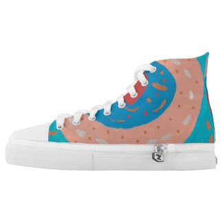 Love Circles High Tops