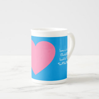 Love Clouds Custom China Coffee ZAZZ_IT Tea Cup