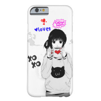 Love Coffee-Anime Barely There iPhone 6 Case