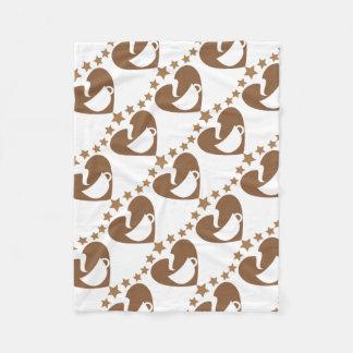 Love coffee fleece blanket