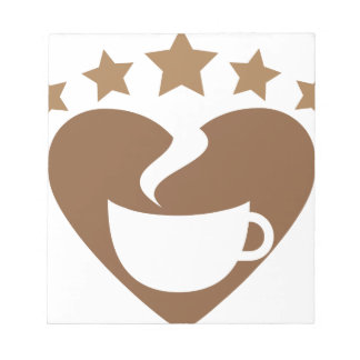 Love coffee notepad