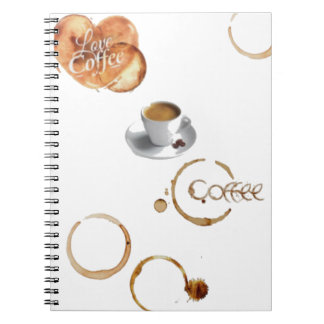 Love Coffee - Spiral Diary Note Books