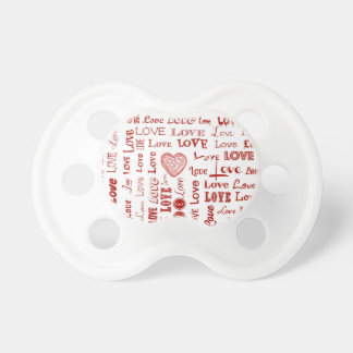 Love Collage Pacifier