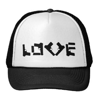 LOVE Collection - Black - Trucker Hat