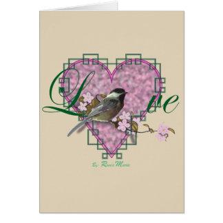 LOVE Collection, Chickadee Card