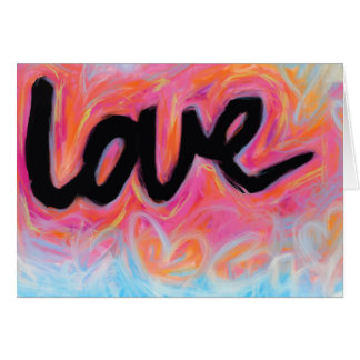 """""""LOVE"""" Collection Note Card"""