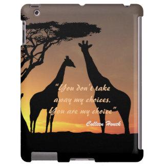 Love Colleen Houck quote giraffes nature design