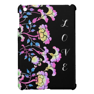 LOVE - Colorful flower garden Case For The iPad Mini