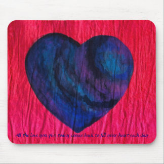 Love Comes Back Mouse Pad