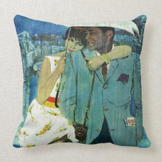 Love Comes to Miss Lucas Throw Cushion