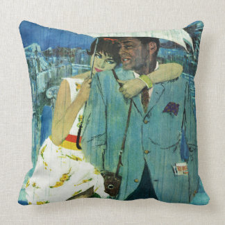 Love Comes to Miss Lucas Throw Pillow