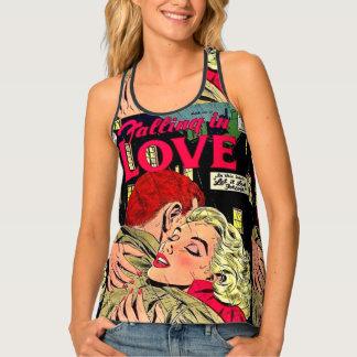 Love comic singlet
