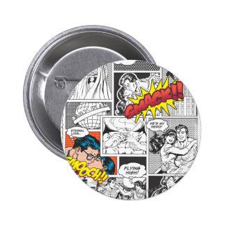 Love Comic Slides 6 Cm Round Badge