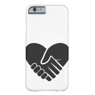 Love Connected black heart Barely There iPhone 6 Case