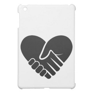 Love Connected black heart Case For The iPad Mini